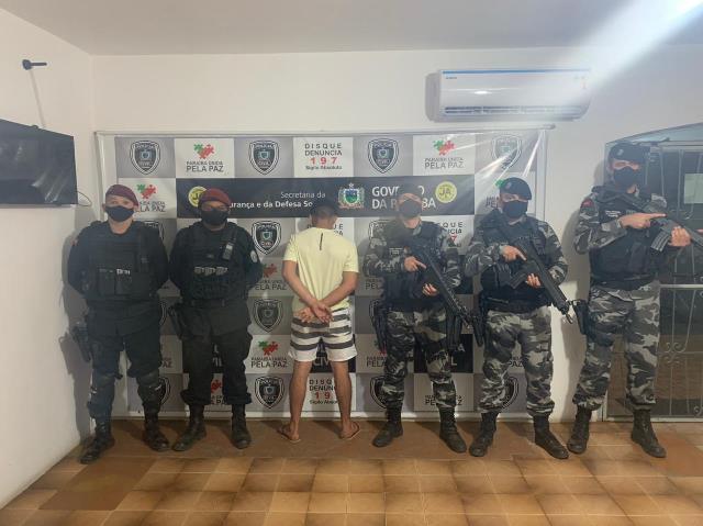 Polícia Militar prende mais um suspeito de envolvimento na morte do cabo Paulino